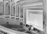 <p>The auditorium of the Gaumont Palace photographed at its opening in December 1932.</p>