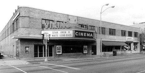VIKING Theatre; Appleton, Wisconsin.