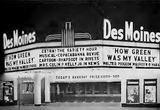 Des Moines Exterior of Theatre