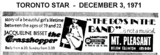 "AD FOR ""THE GRASSHOPPER & BOYS IN THE BAND"" MT PLEASANT CINEMA"