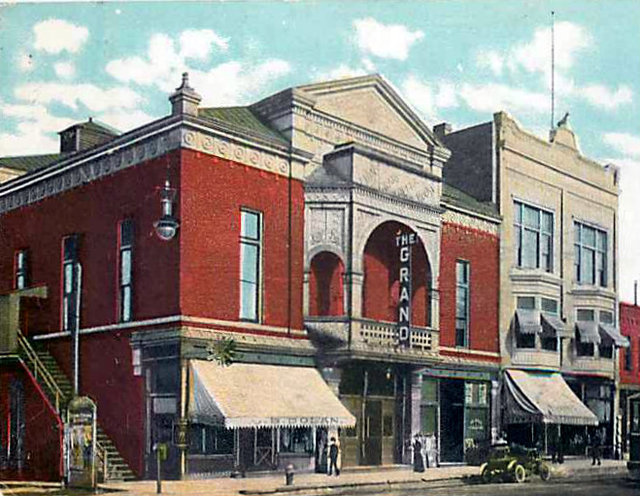 GRAND OPERA HOUSE (STRAND) Theatre; Aurora, Illinois.