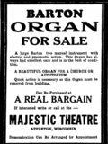 MAJESTIC Theatre; Appleton, Wisconsin.