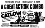 """AD FOR """"CATLOW & WILD ROVERS"""" - PARKWAY DRIVE-IN AND OTHER THEATRES"""