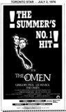 "AD FOR ""THE OMEN"" - ODEON (HAMILTON) AND OTHER THEATRES"
