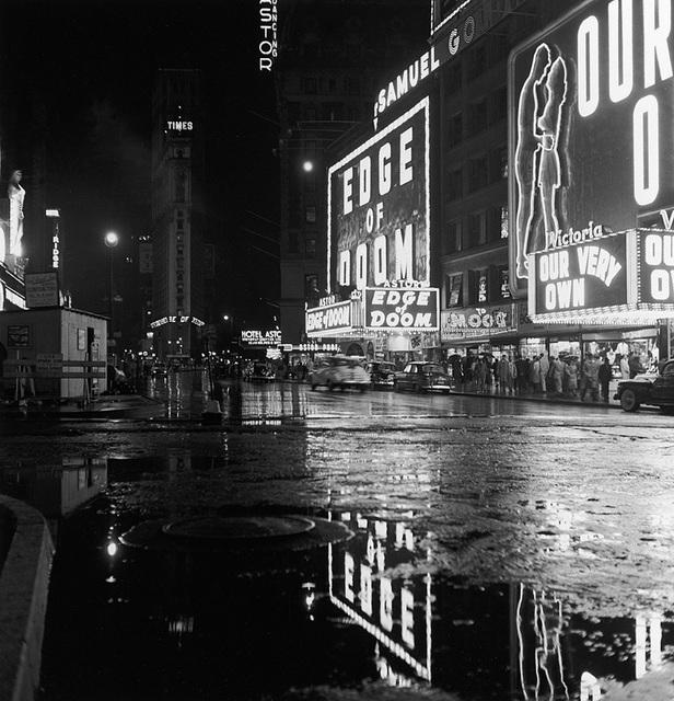 "Astor Theatre ""Edge of Doom"" (1950) engagement"