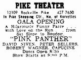 May 26th, 1964 grand opening ad