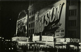 "<p>Astor Theatre ""Kismet"" (1944) engagement. The nearby Victoria Theatre with the ""Wilson"" (1944) engagement.</p>"