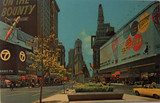 """<p>Astor Theatre and the Times Square area in around 1963. The nearby Loews State Theatre with the engagement of """"Mutiny on the Bounty"""". (Which opened on Nov. 9th. 1962 at the State Theatre)</p>"""