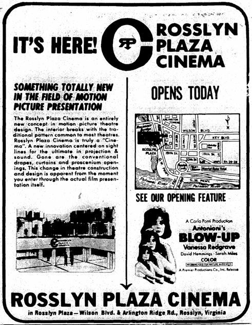 August 2nd, 1967 grand opening ad