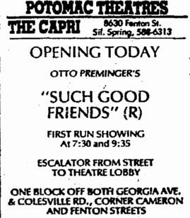 January 19th, 1972 grand opening ad