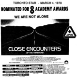"AD FOR ""CLOSE ENCOUNTERS OF THE THIRD KIND"" PLAZA 2 (OAKVILLE) AND OTHER THEATRES"