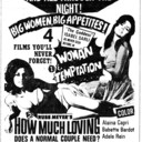 "AD FOR ""FOUR FEATURE MIDITE SHOW"" - CAPITOL THEATRE"