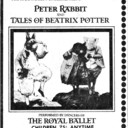 """AD FOR """"PETER RABBIT AND THE TALES OF BEATRIX POTTER"""" - CENTRE THEATRE"""