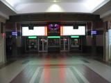 Ticket lobby. Typical Guzzo design.