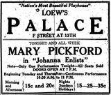 <p>November 4th, 1918 grand opening ad</p>