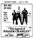 "AD FOR ""THE LEGEND OF NIGGER CHARLEY"" - PALMS THEATRE"