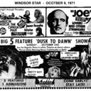 "AD FOR ""TWIN EAST & WEST DRIVE IN THEATRES"""