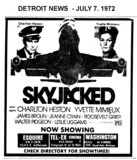 "AD FOR ""SKYJACKED"" - ESQUIRE AND OTHER THEATRES"