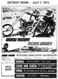 "AD FOR ""EASY RIDER"" - TRENTON AND OTHER THEATRES"