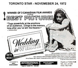 "AD FOR ""WEDDING IN WHITE"" - JACKSON SQUARE (HAMILTON) AND OTHER"