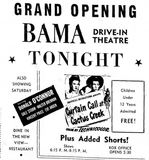 October 27, 1950 grand opening ad