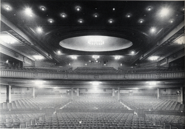 ABC Glasgow Auditorium From The Stage
