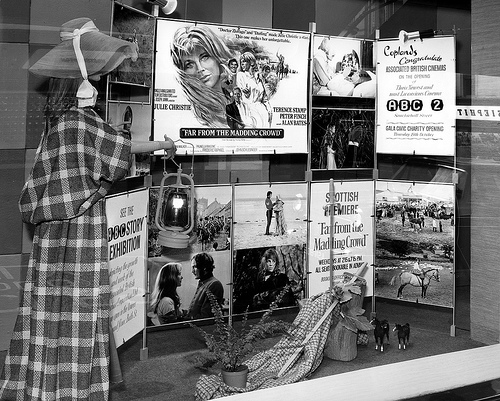 Display For Scottish Premiere of 'Far From The Madding Crowd'