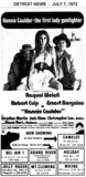 "AD FOR ""HANNIE CAULDER"" CAMELOT THEATRE AND VARIOUS DRIVE-IN THEATRES"