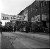 "<p>Police Boys Band attends ""The Glenn Miller Story"" at Loew's Theatre on Dundas St, between Richmond & Clarence. March 13, 1954</p>                            <p>Photo source UWO Archives</p>                            <p>Via the Vintage London Ontario Facebook page.</p>"