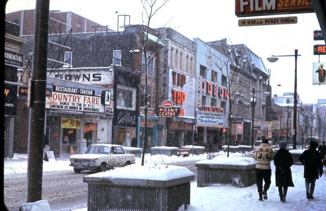 Winter 1966-67 photo credit Don Barber.