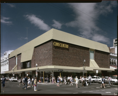 Perth's Cinecentre, cnr of Barrack and Murray Streets