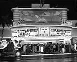 "1940 premiere of ""Rebecca"". Photo via Susan Milner."