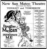 July 23rd, 1925 grand opening ad