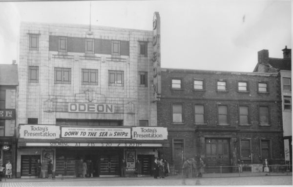 Original Odeon Front Of House