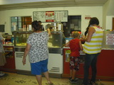 Auto-Vue Drive-In's concession stand - re-opening night.