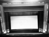 Palace proscenium and screen