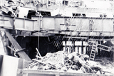Majestic during demolition - 1973