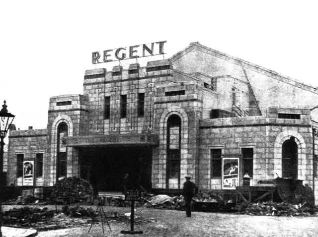 Odeon (Regent) during construction