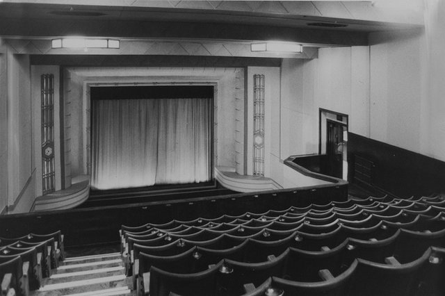 Queens Cinema stage