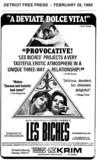 "AD FOR ""LES BICHES"" - TRANS LUX-KRIM"