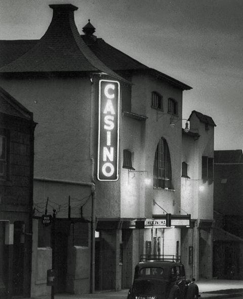 Casino Cinema exterior 1940s