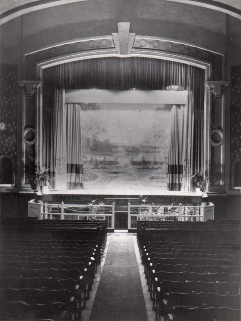 Torry Cinema stage
