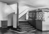 Picture House foyer and kiosk 1973