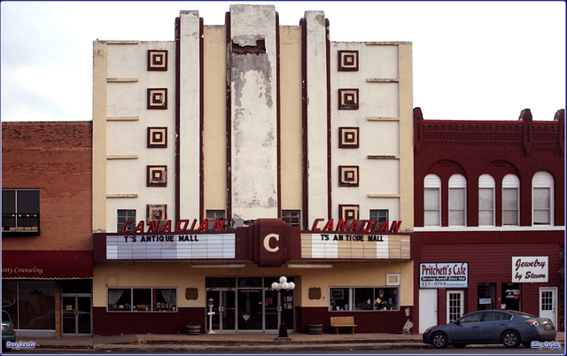 Canadian Theater ... Purcell Texas