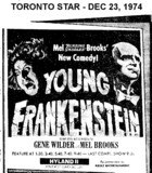 "AD FOR ""YOUNG FRANKENSTEIN"" - HYLAND 2 THEATRE"