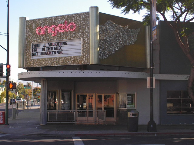 The Gay Theatre as Angels Nightclub