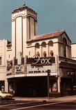 Fox Theatre, Watsonville, Summer, 1984