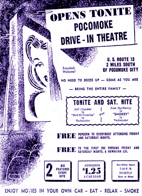 Pocomoke Drive-In