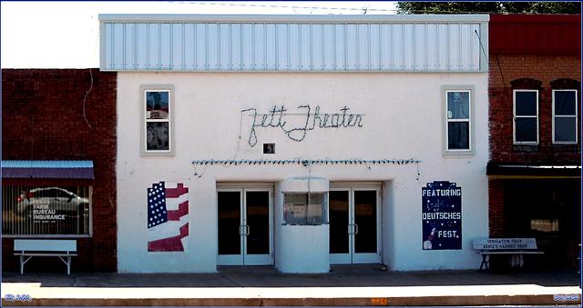 Zett Theater ... Darrouzett Texas