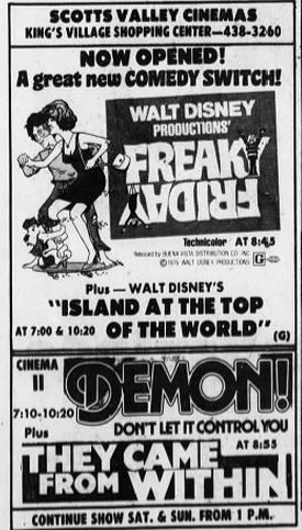 March 9th, 1977 grand opening ad